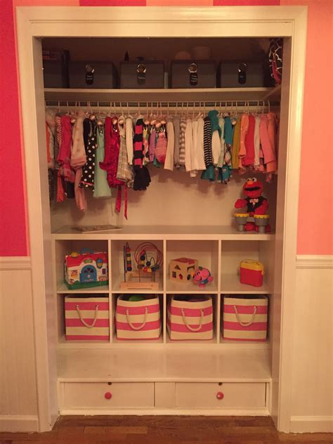 toddler closet organization ikea shelving land  nod