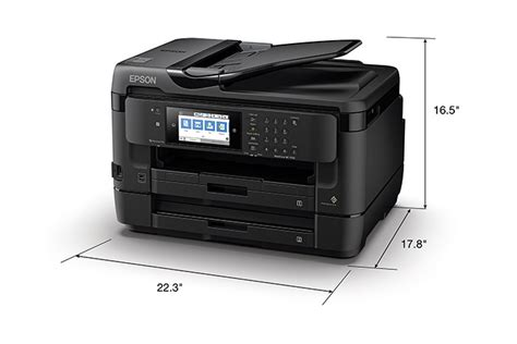 Printer Epson Di Gramedia workforce wf 7720 wide format all in one printer inkjet printers for work epson us