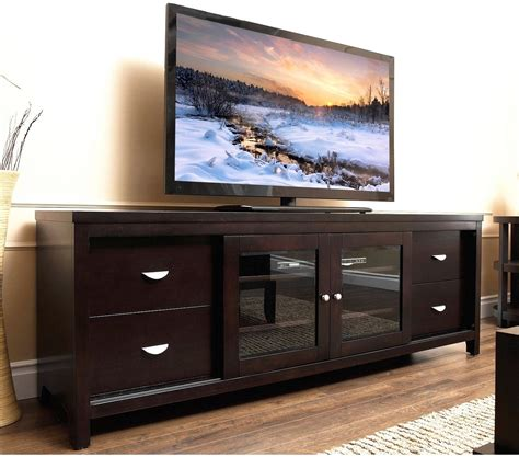 tv consoles solid wood tv stand console 72 inch flat screen entertainment center storage new ebay