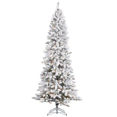 walmart online shopping pencil prelit trees vickerman flocked pencil pine pre lit tree walmart