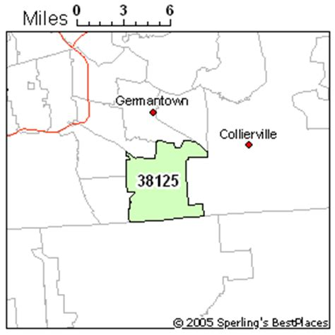 zip code map for memphis tn best place to live in memphis zip 38125 tennessee