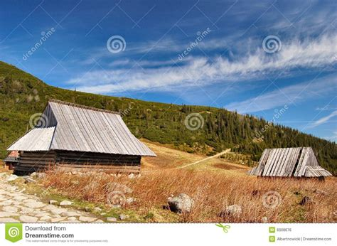 cottage in mountains mountain cabin cottage in tatra mountains royalty