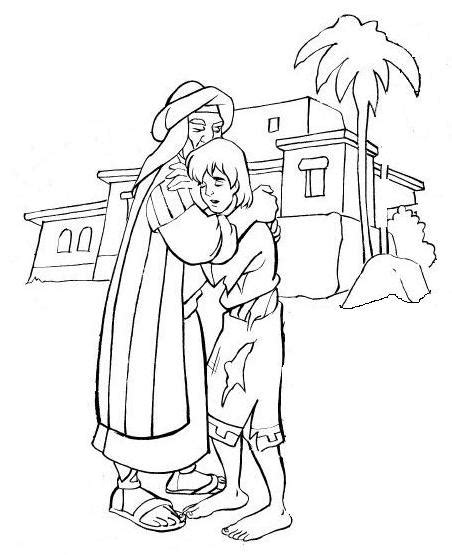Free Coloring Pages Of Prodigal Son Prodigal Coloring Pages