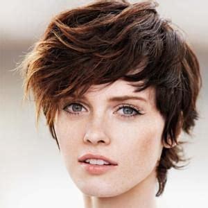 coupe de cheveux courte pour visage ovale visage ovale coupe courte