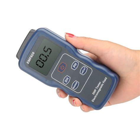 gauss per tesla digital electromagnetic field emf detector 4000