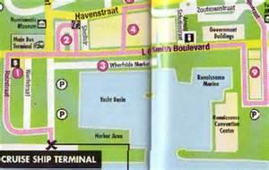 Aruba Car Rental Downtown Map Of Aruba Beaches And Downtown