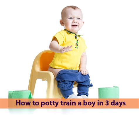 how to poty a how to potty a boy in 3 days