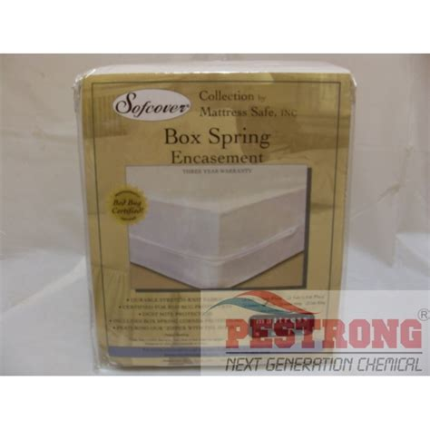 box spring bed bug cover box spring cover encasement for bed bugs full plus size each