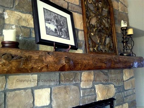 rustic fireplace mantel log mantels rustic mantels wood