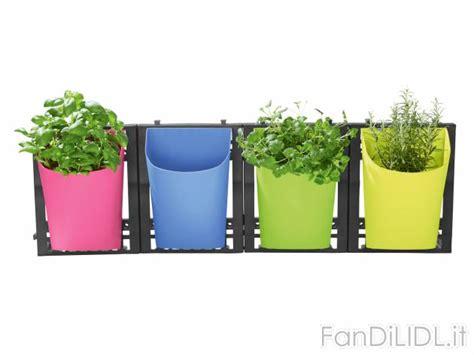 vasi da appendere vaso da appendere giardino fan di lidl