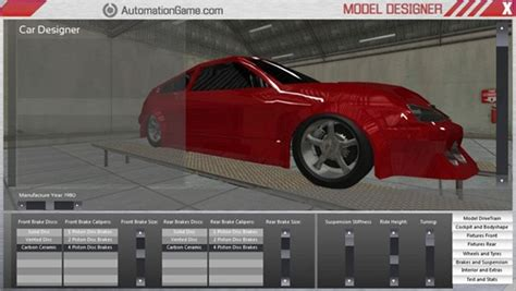 design games car automation the car tycoon game now available for pre