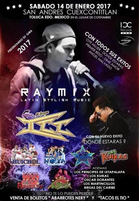 raymix latin stylish  muchas mas  boletos
