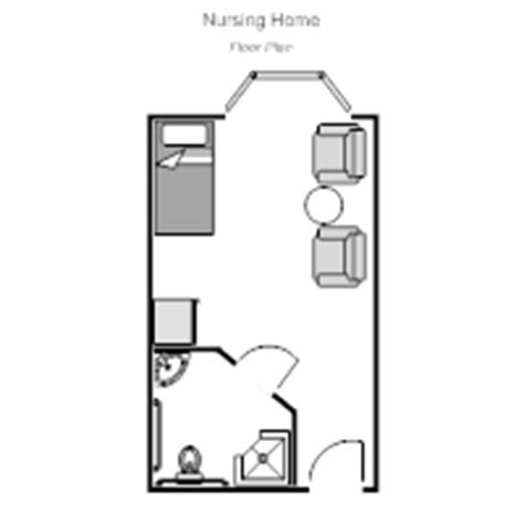nursing home layout design nursing home floor plan exles
