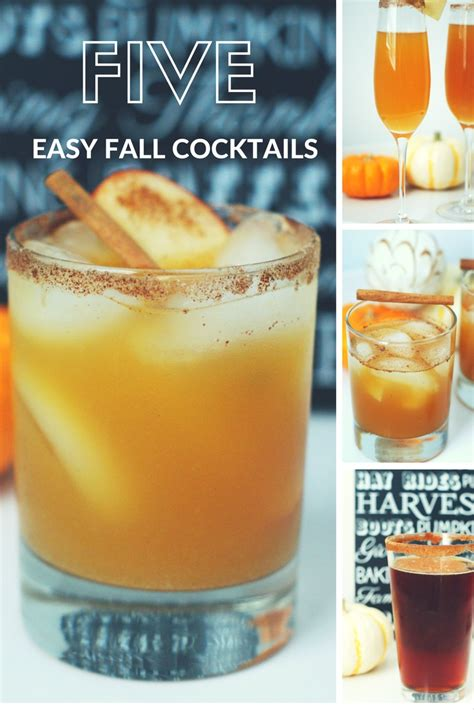 sequins and sea breezes 5 fall cocktails you have to try