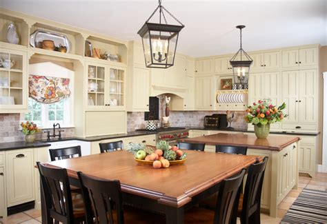 Colonial Kitchen Houzz   colonial kitchen traditional kitchen other by gale