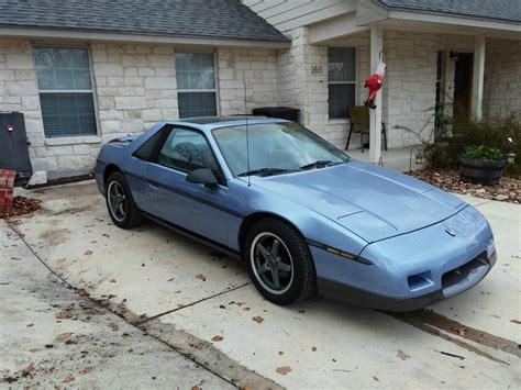 old car manuals online 1986 pontiac fiero on board diagnostic system 1986 pontiac fiero sport coupe 2 door 3 5l lx9 v 6 for sale in la vernia texas united states