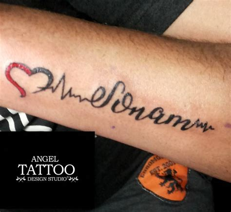 heartbeat tattoo with name name ideas name ideas ideas of