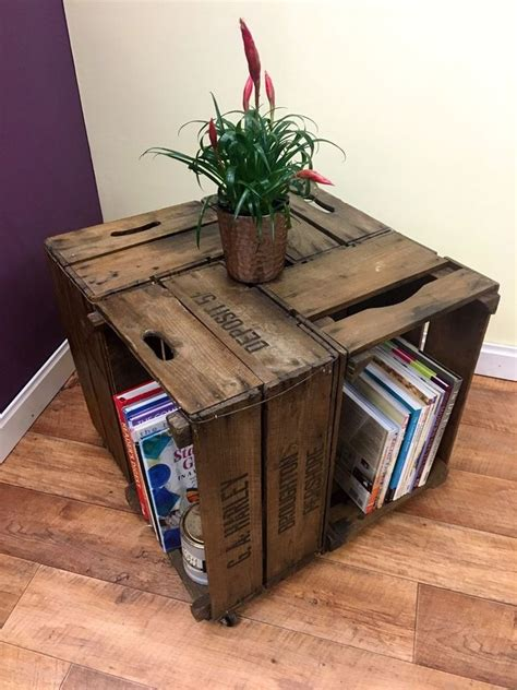 Crate Table by 25 Best Ideas About Crate Coffee Tables On