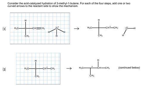 hydration of 4 methyl 2 pentyne10000000000050100 06 chemistry archive october 06 2013 chegg
