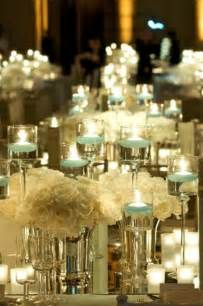 wedding table centerpiece in inspiring winter wedding centerpiece