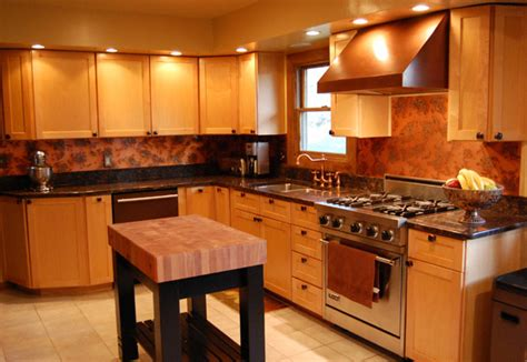 copper kitchen backsplash 9 eye catching backsplash ideas for every kitchen style