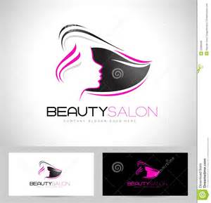 logo de salon de coiffure illustration de vecteur image