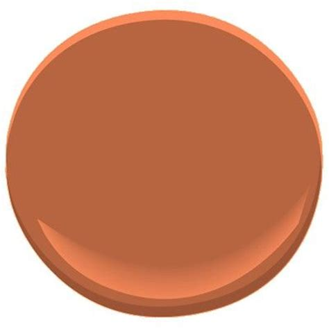 benjamin rust paint colors