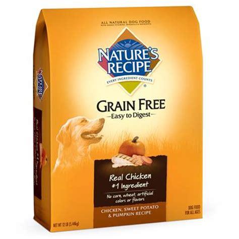 nature s recipe grain free food nature s recipe grain free easy to digest food 1800petmeds
