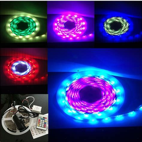 battery operated led light strips with remote energy saving 5m remote controlled telescopic flag pole