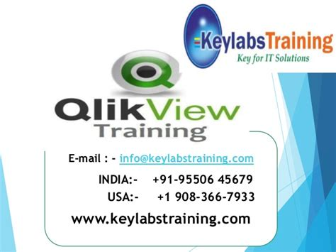 qlikview tutorial ppt qlikview training