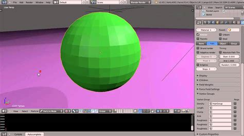 tutorial blender particles blender tutorial hair particles weight painting and