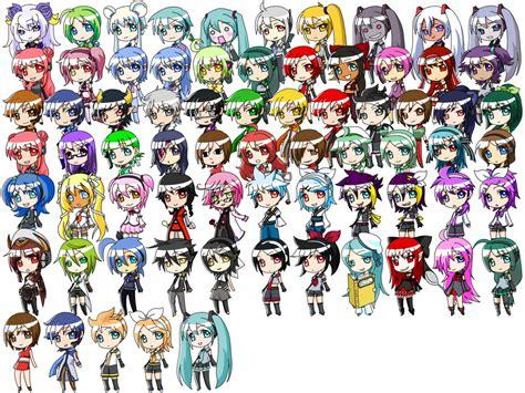 Q Anime Names 花 漾 樓 vocaloid的亞種們