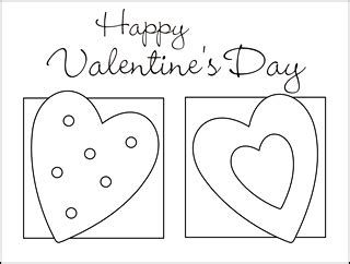 valentines day coloring cards template stuffed animal sewing patterns squishy