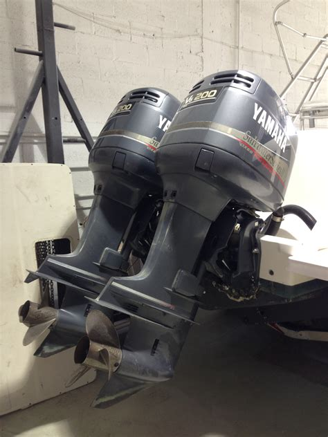 craigslist miami fl boat parts twin yamaha 200hp 2 strokes for sale south fl the hull