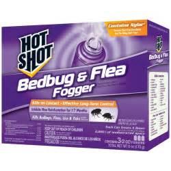 bedbug flea fogger insecticide 3 count 6 oz