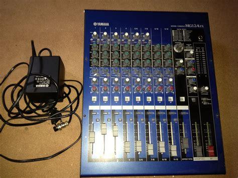 Mixer Yamaha Mg 16 Fx yamaha mg12 4fx image 489823 audiofanzine