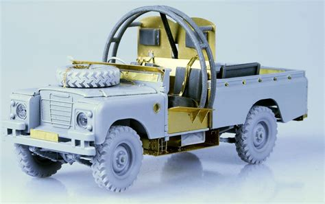 land rover italeri bsm new release mine protected land rover model builder