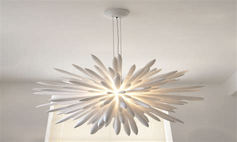 white contemporary chandelier 28 images roll hill - Kronleuchter Modern Weiss