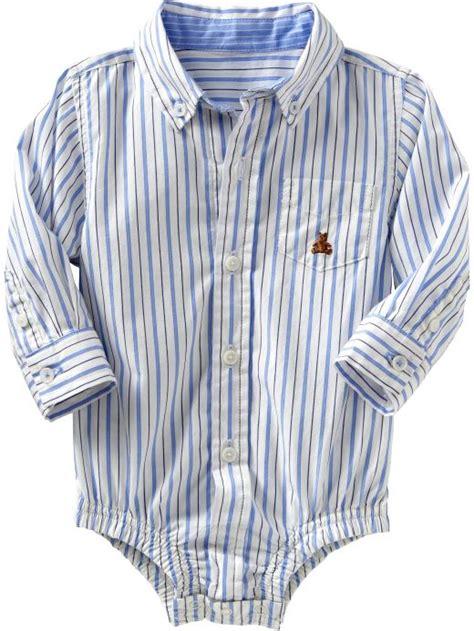 Baby Gap Button Pocket Stripe Navy baby clothing baby boy clothing dressy bodysuit infant