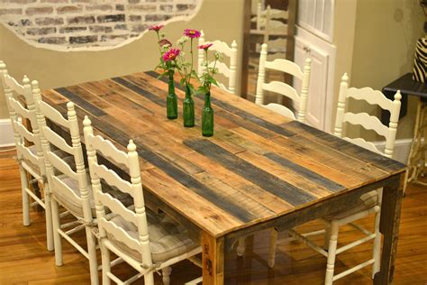 dining table diy 13 easy and cost effective diy pallet dining tables