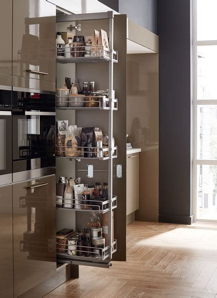 Standard full height pull out larder   Kitchen storage