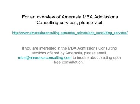 Amerasia Mba 5 tips for applying to mit sloan
