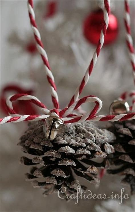 pine cone ornaments pine cone ornaments christmas pinterest