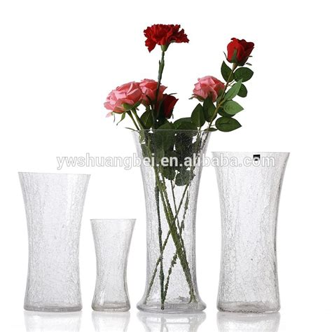 Inexpensive Flower Vases by Cheap Glass Flower Vase With Bottom For