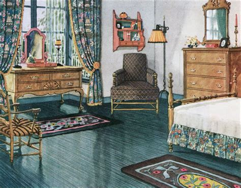 vintage inspired home decor 1926 armstrong blue green bedroom vintage bedroom