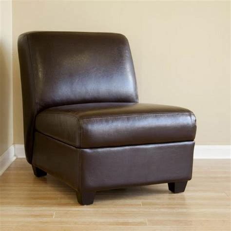 brown faux leather accent chair baxton studio baxton contemporary brown faux leather