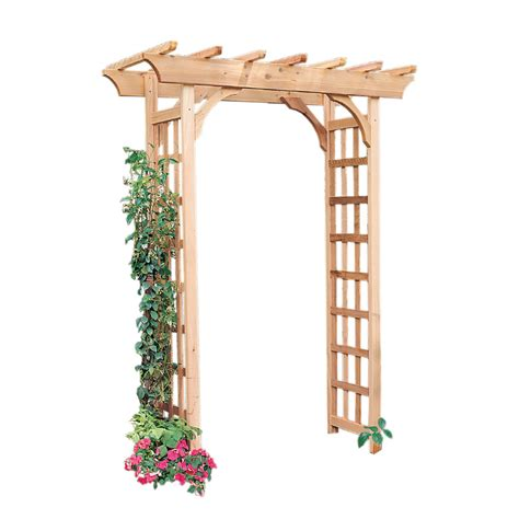 Garden Arbor Lowes by Shop Garden Architecture 5 3 Ft W X 7 Ft H Garden