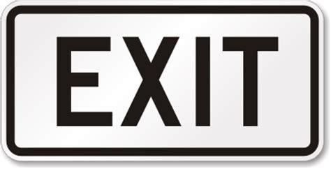 exit sign sku k 2900