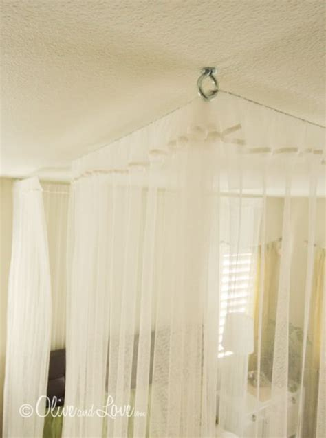 ceiling mounted canopy bed canopies canopies and ceilings on pinterest
