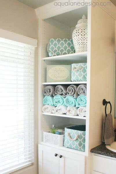 decorating bathroom towels